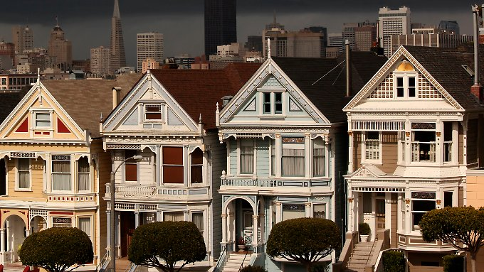 Häuser in San Francisco.