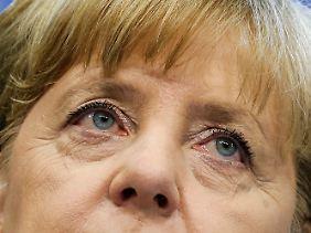 Angela Merkel hat sich bislang kaum zu den Vorgängen geäußert.