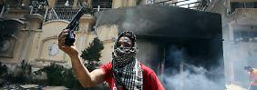 Unruhen in Ägypten: Demonstranten stürmen Zentrale der Muslimbruderschaft