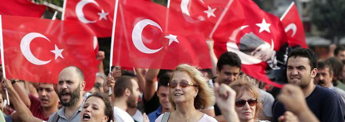 Der Protest der Türken gegen die Regierung Erdogan hatte sich an den Bebauungsplänen entzündet.