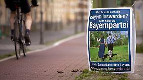 Die Bayernpartei spielt mit dem Image des Freistaates.