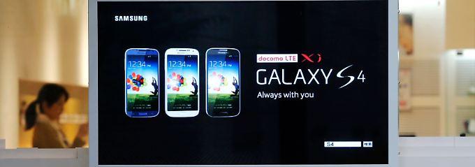 Zum Glück gibt es das Galaxy S4.
