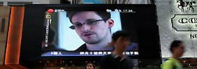 Snowden äußerte sich per E-Mail.