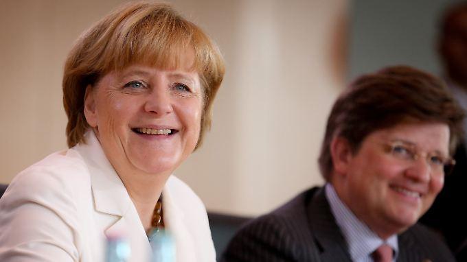 Gerade noch Merkels Vertrauter, demnächst bei Daimler: Eckart von Klaeden.