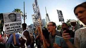 Entrüstung über Zimmerman-Urteil: Jugendliche randalieren aus Wut