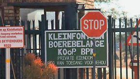 Zutritt nur für Weiße: Südafrikanische Buren klammern sich an die Vergangenheit