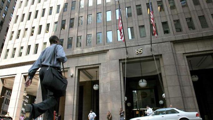 Goldman-Sachs-Zentrale in New York