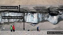 Dramatische Landschaftsveränderungen: Permafrostboden der Antarktis taut schneller