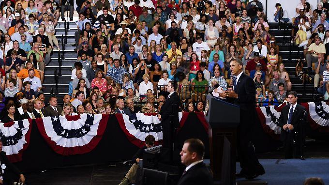 Obama sprach im Knox College in Galesburg, Illinois. Dort hatte er bereits 2005 seine erste große Rede zur Wirtschaftspolitik als Senator gehalten.