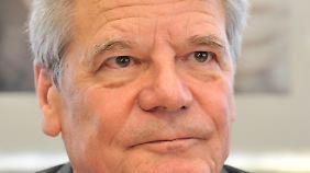 """""""Freiheitsgefühl eingeschränkt"""": Gauck kritisiert Spähaktionen der NSA"""