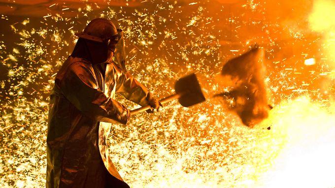 Europas Stahlhersteller leiden unter der Konkurrenz aus China.