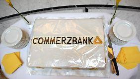 Kleiner Hoffnungsschimmer: Commerzbank zurück in den schwarzen Zahlen