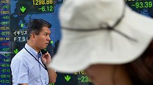 China freut sich über Konjunktur: Starker Yen bremst Nikkei