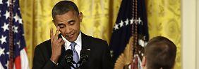"""""""Ich glaube nicht, dass Snowden ein Patriot ist"""": Obamas seltsamer Befreiungsschlag"""