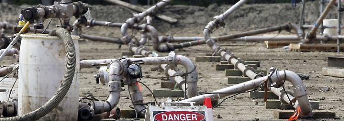 Fracking wird andernorts schon genutzt, hier etwa nahe der Stadt Dawson Creek in Kanada.