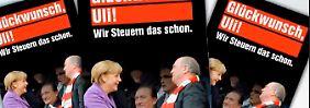 Der Wahlkampf erreicht die Bundesligastadien: SPD zieht die Anti-Hoeneß-Karte