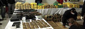 75 Millionen Euro Marktwert: Ermittler finden 1727 Kilo Kokain