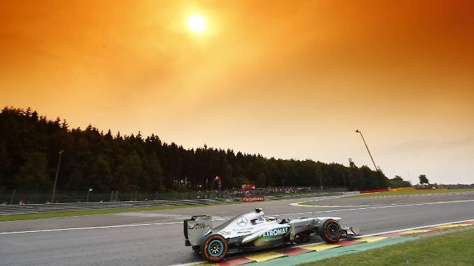 Im Qualifying unschlagbar: Mercedes-Pilot Lewis Hamilton.