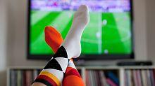 Fußball? Höchstens im Fernsehen.