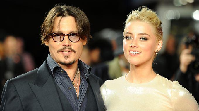 """Zuletzt war das Paar gemeinsam in dem Film """"The Rum Diary"""" zu sehen, bei dem Depp auch als Produzent mitgewirkt hat."""
