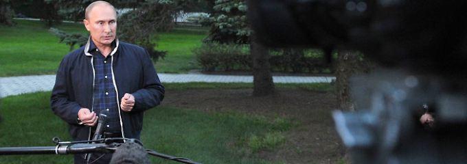 Auch Putin kann Rosengarten