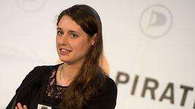Katharina Nocun setzt sich gegen die Ausspähungen durch Geheimdienste ein.