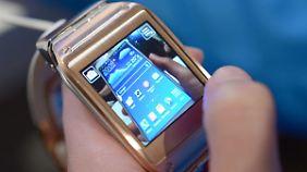 Smartphone am Handgelenk: Samsung präsentiert Smartwatch