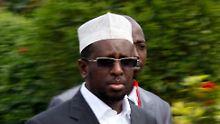 Der somalische Präsident Sheik Sharif Sheik Ahmed ist seit Januar 2009 im Amt.