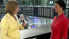 Private Gewinne und öffentliche Verluste: Wagenknecht prangert Missstände im Bankensystem an