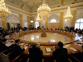 Erst das achte Treffen auf der Ebene der G20: Hier beraten Staats- und Regierungschefs über die künftige Gestalt der Weltwirtschaft.