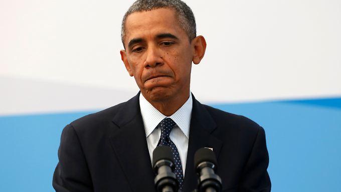 Jede Militäraktion wäre begrenzt in Zeit und Umfang: Barack Obama.