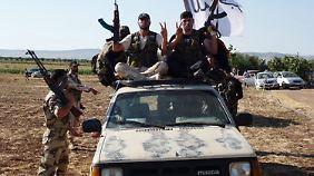 Syrische Rebellen in Aleppo.