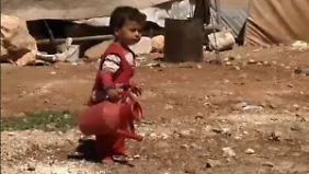 Zuflucht in Deutschland: Grüne fordern Aufnahme von 50.000 Syrern