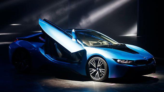 BMW schlägt neue Wege ein: i8 soll neues Elektro-Flaggschiff werden