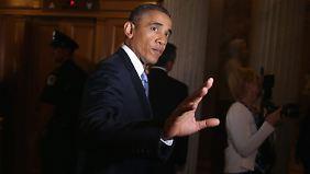 Syrien soll Giftgas abgeben: Obama lässt militärische Option weiterhin offen