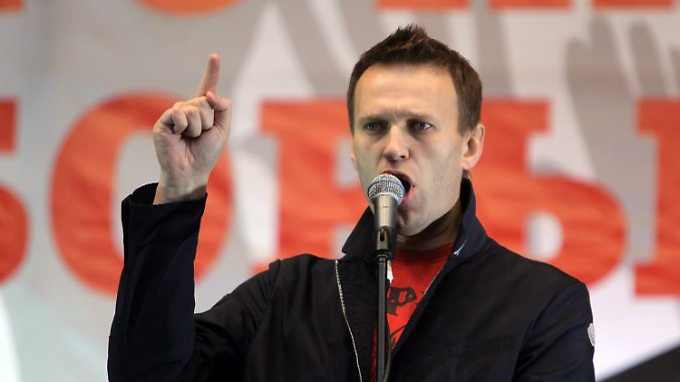 Mit Massendemonstrationen machte Nawalny gegen Präsident Putin mobil.
