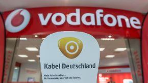 Neue Konkurrenz für die Telekom?: Vodafone greift nach Kabel Deutschland