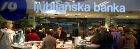 Große Löcher in den Bankenbilanzen: Slowenien will nicht Zypern werden