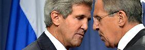 Assad muss C-Waffen abrüsten: USA und Russland finden Einigung