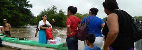 """Tausende Menschen flüchten vor Hurrikan: Mexikaner rüsten sich für """"Ingrid"""""""