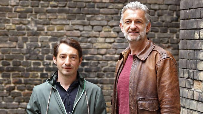 """Sie wollen nicht bis zur Rente beim """"Tatort"""" weitermachen: Schauspieler Boris Aljinovic (links) und Dominic Raacke."""