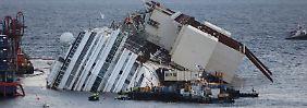 """Verzögerung beim Wrack-Aufrichten: Bergung der """"Costa Concordia"""" ist riskant"""