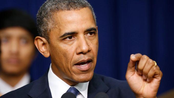 """""""Wir haben das Geröll weggeschafft"""" - US-Präsident Obama zum 5. Jahrestag der Finanzkrise."""