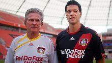 Der Trainer und sein Star: Jupp Heynckes und Michael Ballack.