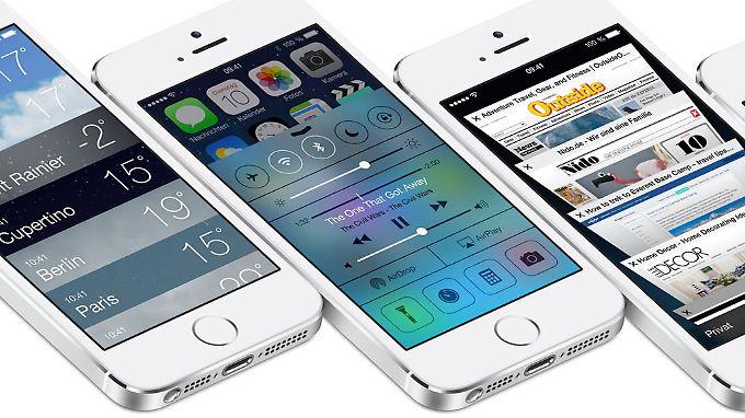 iOS 7 erhält in den USA gute Kritiken, kann aber nicht in allen Punkten überzeugen.