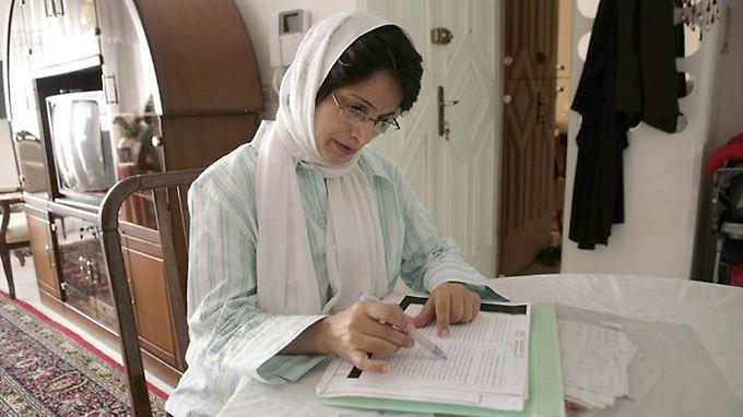 Nasrin Sotudeh - aufgenommen kurz vor ihrer Verhaftung im Jahr 2010.
