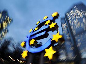 Die EZB kann den Geldtropf noch nicht abstellen.