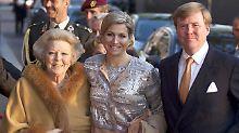 Unfall im Niederländischen Königshaus: Prinzessin Beatrix wird operiert