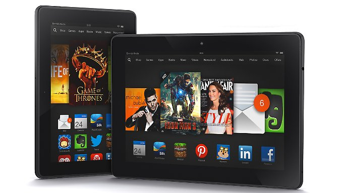 Amazon's new Kindle Fire tablet have HDX displays with very high pixel density.