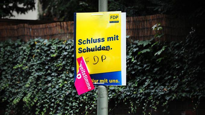 Die FDP ist an sich selbst gescheitert. Und an der Fünf-Prozent-Hürde.